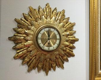 Vintage Welby starburst clock