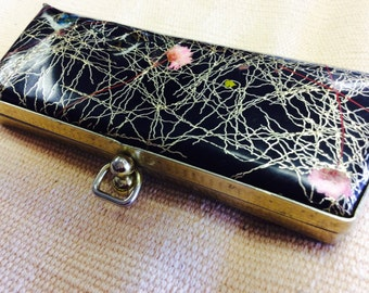 Black & gold eyeglass case