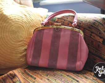 Vintage Weymouth American Handbag Pink circa 1960s/70s Made in England