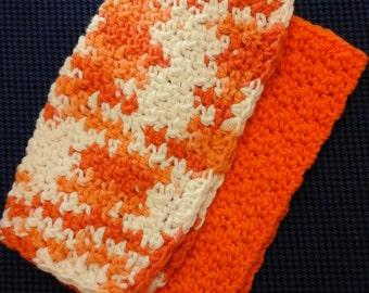 100% cotton Dish or Wash cloths crochet