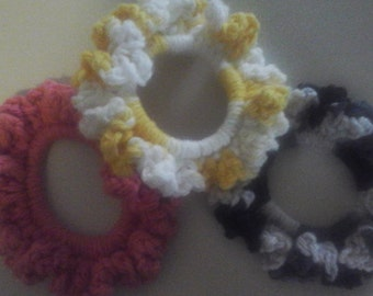 Ponytail  Holders/Scrunchies 100% Cotton