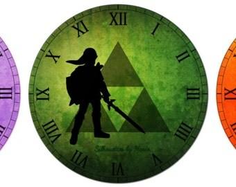 Link, Zelda or Ganondorf Clock