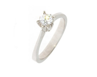 Diamond ring, Engagement ring, Woman ring gold, Gold engagement ring, Gold diamond ring, Diamond stone ring, Solitaire diamond ring