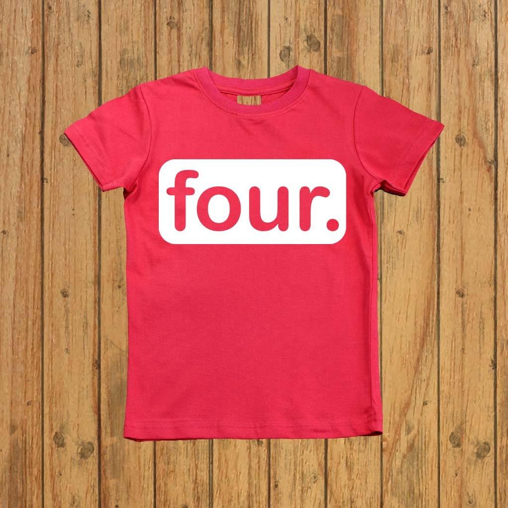 Boys Fourth Birthday Shirt Four Year Old Fourthth Outfit Boy