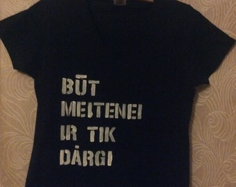 Būt meitenei ir tik dārgi | krekls.