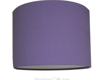 Lilac Lightshade With Diffuser  / Various Sizes / 40cm / 45cm / 50cm