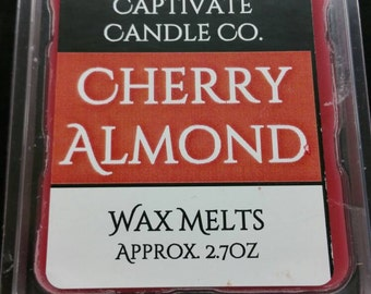 Cherry Almond Wax Melt / Tart / Aroma / Clamshell / Gift