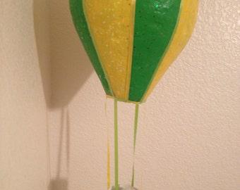 Decorative, Homemade Hot Air Balloons