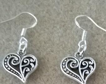 Heart Valentine Earrings