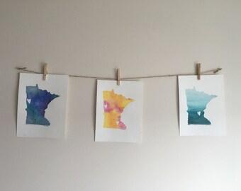 Minnesota Watercolor