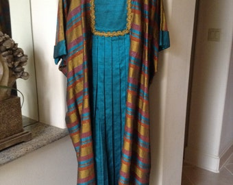 Gorgeous , handmade caftan from the 60,s