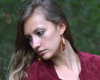 """Earrings """"Banana Tree"""""""