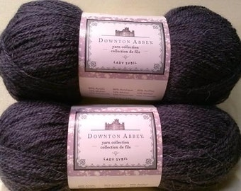 Downton Abbey Yarn - Lady Sybil Color# DA4003-04 Mulled Grape