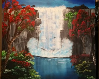 Huge Original waterfall