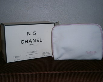 Chanel cosmetics bag