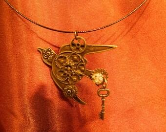 Steampunk  Mechanical Bird