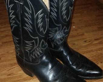 Vintage Cowboy Boots size 9 1/2