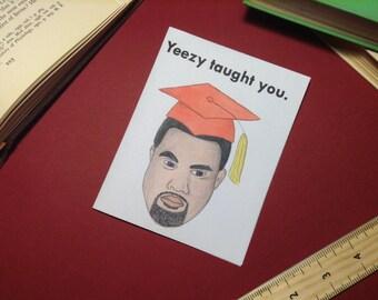 KANYE WEST Graduation Card