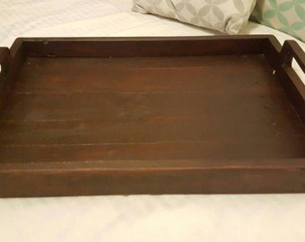 Handmade Rustic Serving Tray