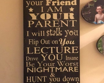 Wood Quote Plaque
