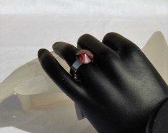 SwarovskiRing Crystal Red magma