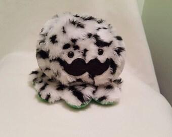 Fuzzy Mustaopus [Mustache Octopus Plush]