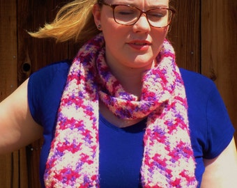 SALE~ Berries and Cream Scarf