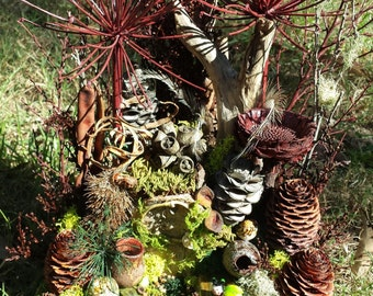 Unique ,handmade Fairy garden