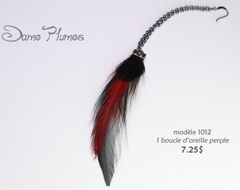 a feathers earring