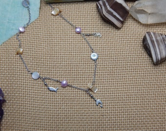 Summer for the sea necklace