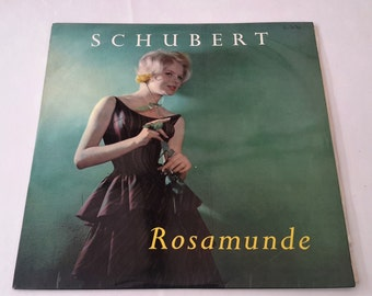 Vintage Vinyl Record, 'Rosamunde' by Franz Schubert, Munich Symphony Orchestra, Conducted by Kurt Redel