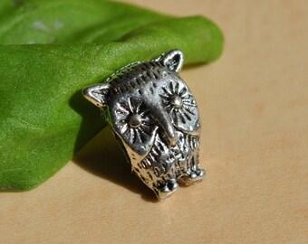 Cozy Owl bead