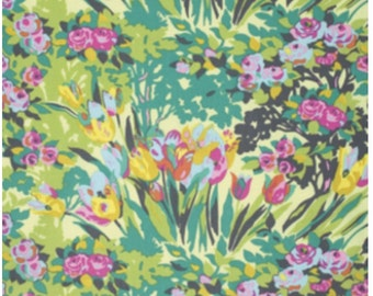 1 yard - Amy Butler Violette Meadow Blooms in Butter