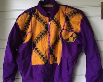 Vintage cotton festival jacket