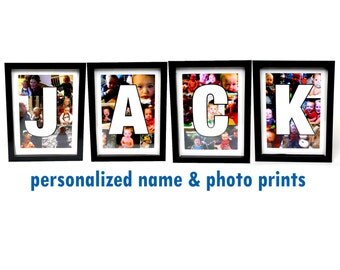 Personalized Name & Photo Prints