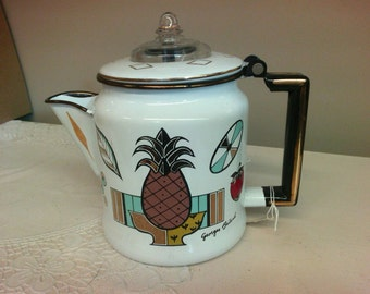 Mid Century Georges Briard Coffee Pot