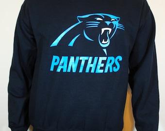 Carolina Panthers Mens Sweatshirt Crewneck