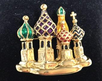 Joan Rivers Kremlin Pin-Collectible-Discontinued