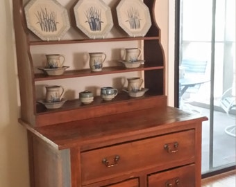 Antique Primitive Cupboard