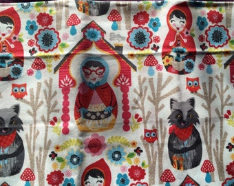 Fat Quarter - Little Red Riding Hood fabric by Josephine Kimberling