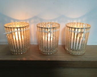 Votive candle holder or tea light holders