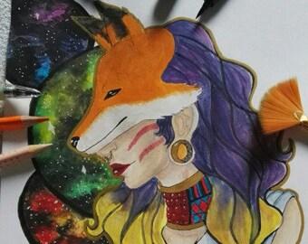 Fox lady original