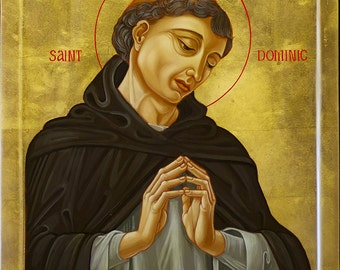 St. Dominic (Western Style Icon)