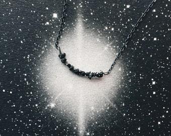 Celestial Black Diamond Necklace