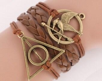 Custom bronze bracelet