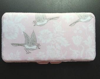 Bird handmade baby wipe case