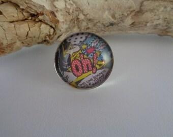 """Ring """"pop art"""""""
