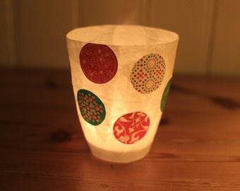 COLORED tealight holder for children