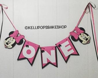 Minnie Mouse Birthday Banner
