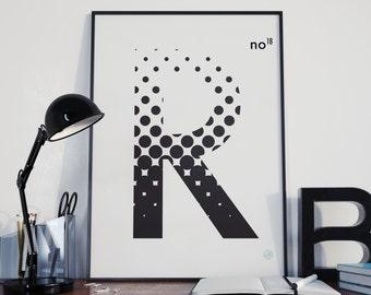 "Alphadots ""R"""
